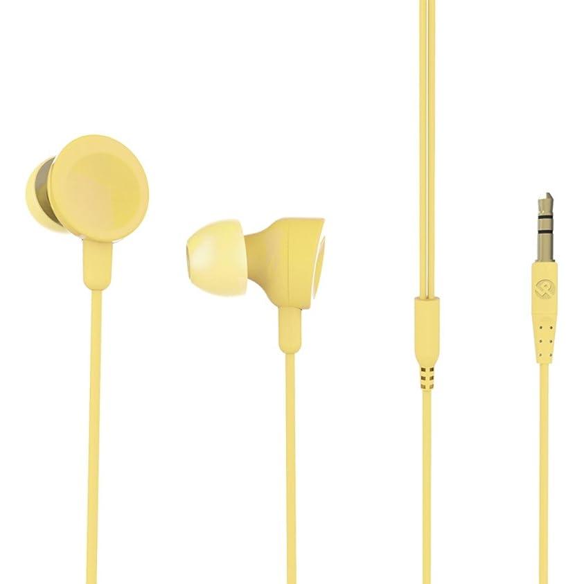 治療印象的な舗装ステレオイヤフォン「極の音域 C シリーズ」 イエローオレンジ LP-MEP01OR