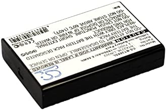 GAXI Battery Replacement for OnCourse SiRF Star III, GPS, Navigation Battery