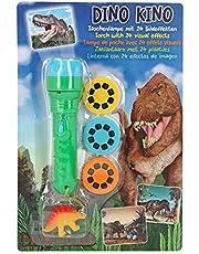 Depesche 5950 zaklamp Dino World, met 24 beeldeffecten, gesorteerd