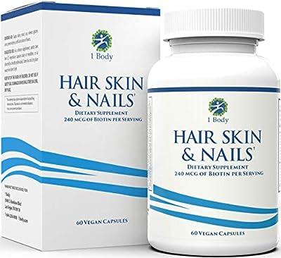 Hair, Skin, & Nails Vitamins – 5000 mcg