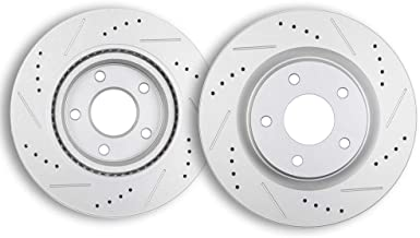 Brake Rotors,ECCPP 2pcs Front Brake Discs Rotors Brake Kits fit for 2007 2008 2009 2010 2011 2012 2013 Nissan Altima