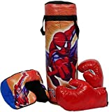 peehu 52cm boxing kit with punching bag for kids 3 to 9 years (punching bag, gloves and headgear) multi- Multi color