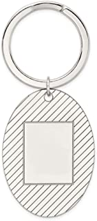 925 Sterling Silver Key Chain