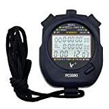 CkeyiN - Cronometro ,Cronometro Timer ,60 Memoria, Display a 3 Righe...