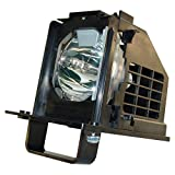 WOWSAI TV Replacement Lamp in Housing Mitsubishi WD-60638, WD-60738, WD-60C10, WD-65638, WD-65738, WD-65838, WD-65C10 Televisions