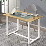 Zinus Alto Rectangular Dining, Office Desk, Computer Table, Quick Snap Bolt & Nut Free Easy Assembly, Award Winning Design, Farmhouse