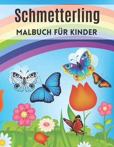 Schmetterling Malbuch für Kinder: Ausmalbild: Ein einzigartiger, komplett schmetterlingshafter Schmetterling | Lustiges Aktivitätsbuch für kleine ... für Kinder und Kleinkinder