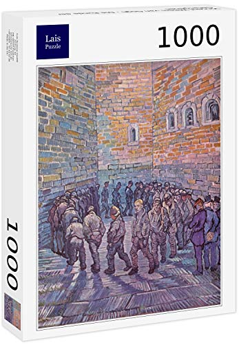Lais Puzzle Vincent Willem Van Gogh - Il Giro dei prigionieri 1000 Pezzi