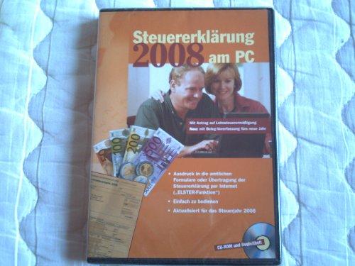 Steuererklärung 2008 am PC