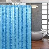 DIAOPROTECT Duschvorhang, Wasserdicht Anti-Schimmel Antibakteriell Eva Bad Vorhang,Badewanne Vorhang für Dusche Badezimmer,inkl.12 Duschvorhangringen,0.2mm(180x200cm)