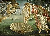 GUANGMANG Puzzles Rompecabezas- El Nacimiento De Venus - Juego De Rompecabezas De Madera De 1000 Piezas para Adultos Niños Puzzle Juguetes Decoración del Hogar