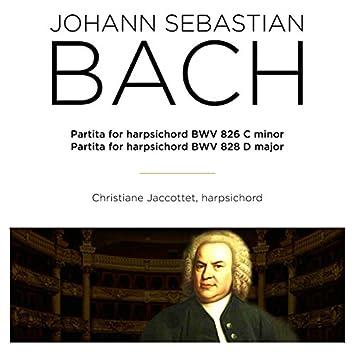 Bach: Partitas for Harpsichord, BWV 826 & 828