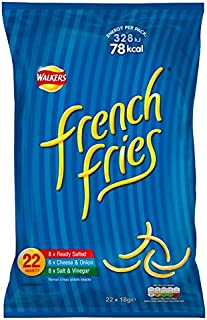 Walkers French Fries Variety Snacks 18g x - 22 per pack