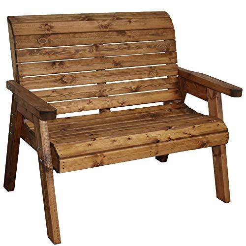 122 cm Panchina a 2 posti Simply Wood Jubilee