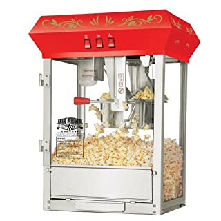 Great Northern Popcorn Red Foundation Antique Style Popcorn Popper Machine with 8-Ounce Kettle (B002YOVGJO)   Amazon price tracker / tracking, Amazon price history charts, Amazon price watches, Amazon price drop alerts
