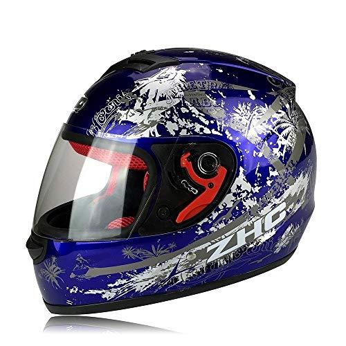 LG Snow Anti-Fog Full Face Helm Motorradhelm/Elektro Auto Helm/Männer und Frauen...