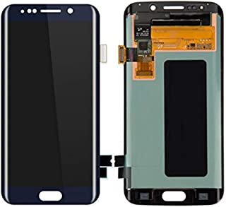 Display Touch Screen Digitizer Assembly Repair Replacement Part for Samsung Galaxy S6 Edge,G925S G925V G925i G925F,Repair Tools and Screen Protector.(Blue,5.1 Inch)