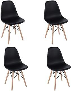 HOMEMAKE FURNITURE Juego de 4 sillas de comedor de estilo