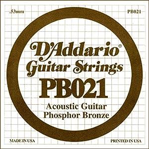 Calibre 030 Cuerdas de fósforo / bronce Para guitarra acústica