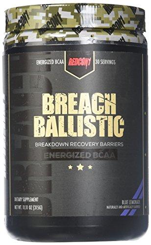 Redcon1 Breach Ballistic, blauwe limonade - 315 g