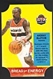2011-12 Panini Past Present Bread For Energy Die Cut #5 Andray Blatche Wizards