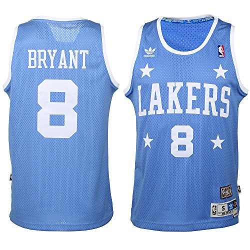 adidas Kobe Bryant Los Angeles Lakers Youth Hardwood Classics Soul Jersey Large 14-16