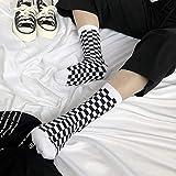 Corea del Harajuku tendencia de las mujeres del tablero a cuadros...
