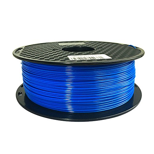 PC Filament Blue 1.75mm Longsell 3D Printer Polycarbonate Material Filament (Blue) 1KG High Strength Compatible with Most 3D Printer 1KG Spool PC Printing Material (Blue)