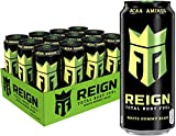 Reign Total Body Fuel Fitness Performance Drink, White Gummy Bear, 16 Fl Ounce (Pack of 12)