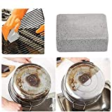 4 unids/set parrilla ecológica limpieza ladrillos limpiador herramientas para el hogar al aire libre barbacoa y cocina limpieza