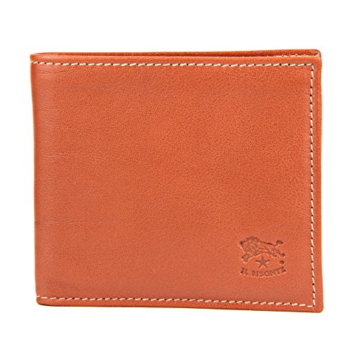 [イルビゾンテ] メンズ 二つ折り財布 IL BISONTE C0817 P 145 キャメル [並行輸入品]