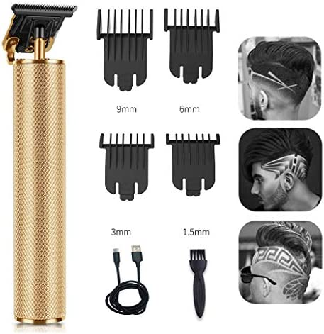 Electric Pro Li Hair Clippers Grooming Rechargeable Cordless Close Cutting T Blade Trimmer for product image