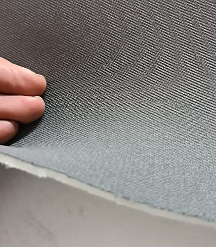 Tela gris Foamizada para tapizar coche.Tapizar techo coche, puertas y interiores. Se vende a metros
