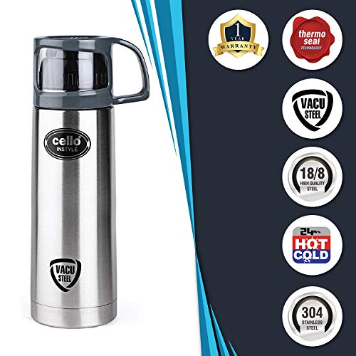 Cello Instyle Stainless Steel Flask