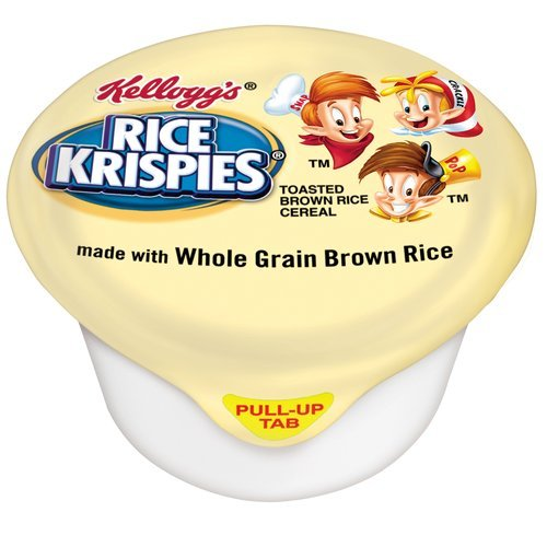 Kellogg's Rice Krispies Whole Grain Cereal, 1 Ounce (Pack of 96)