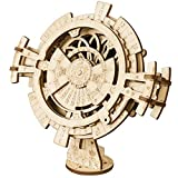 ROBOTIME Perpetual Calendar Model Kits - Laser Cutting Mechanical Model Construction Building Kit Adults - Make Your Own Jigsaw Puzzle Craft