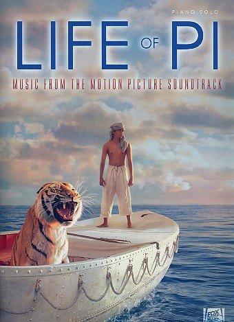Naufragio con Tiger: La más populares melodías de la película Música Arreglados para Piano Partituras mychael Danna
