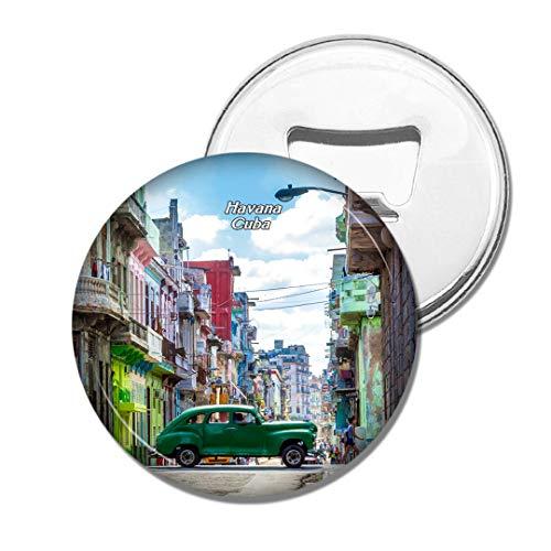 Weekino Altstadt von Kuba Bier Flaschenöffner Kühlschrank Magnet Metall Souvenir Reise Gift