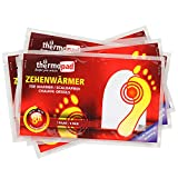 Thermopad Zehenwärmer Calentador de Dedos, Hombre, Beige, 10 Pairs