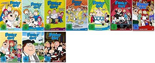 Family Guy Staffel 1-10 (1+2+3+4+5+6+7+8+9+10) / DVD Set