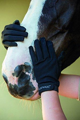 Horseware–Muserola Multi guantes, 11.5, Marrón