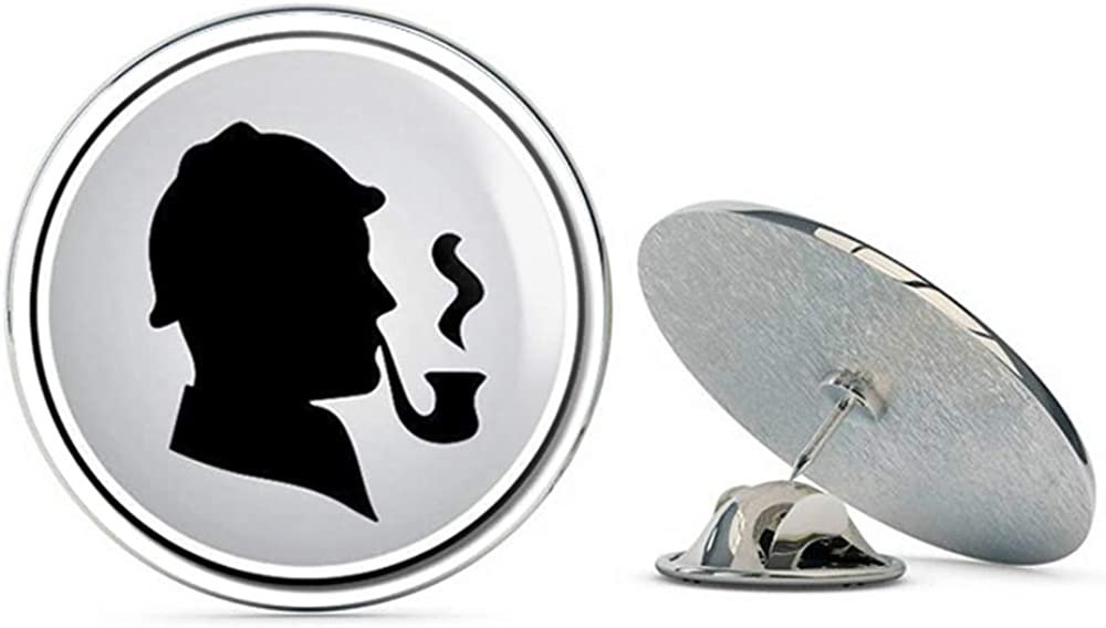 BRK Studio Sherlock Holmes Round Metal 0.75