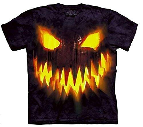 The Mountain Youth Halloween Pumpkin Jack O' Lantern Tee, T-Shirt