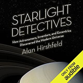 Starlight Detectives audiobook cover art
