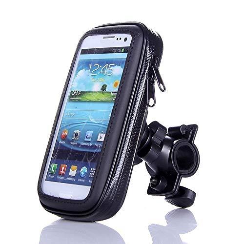 Fahrrad-Handyhalter, justierbarer Fahrrad-Telefon-Standplatz Unterwassergehäuse for iPhone XS 11 Samsung s8 s9 Mobil