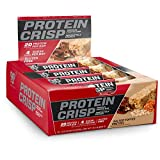 BSN Protein Crisp Bar by Syntha-6, Low Sugar Whey Protein Bar, 20g of Protein, Salted Toffee...