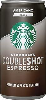 Sponsored Ad - Starbucks Doubleshot Espresso, Americano Black, 6.5 fl oz. Cans, (12 Pack)