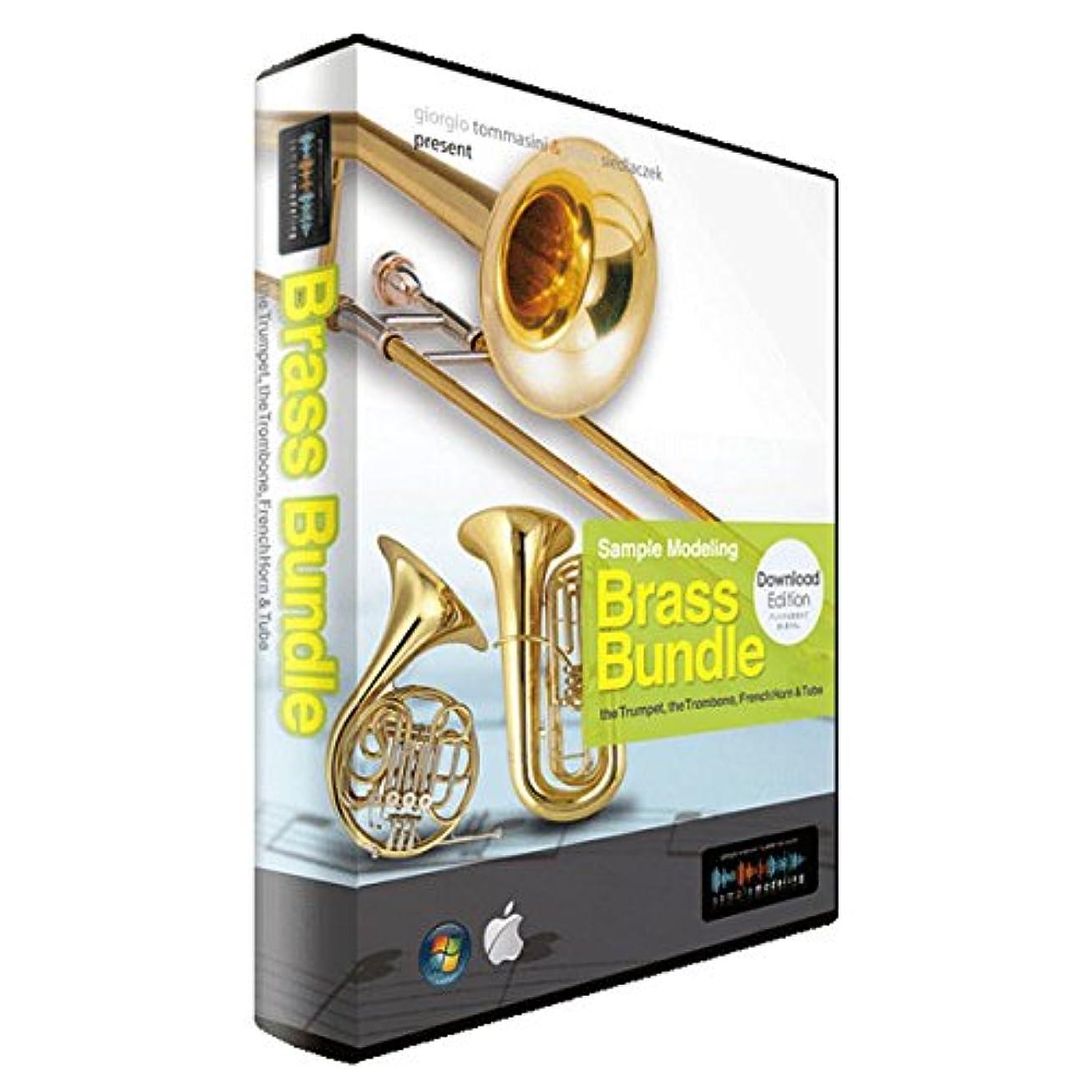 終点英語の授業があります動的SampleModeling ブラスセクション音源 Brass Bundle 3