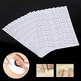 Individual glue for eyelash, 140 Pcs Eye Lashes Extension Adhesive Sticker Eyelash Isolation Positioning Pads Patches Tool