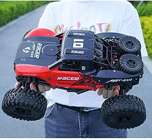 Darenbp RC Car 2.4GHz Control Remoto Coche 45 ° Escalada RC Vehículo Bigfoot Coche Coche Coche de Alta Velocidad para niños Niños Regalo Modelo de Control Remoto Modelo de vehículo Todoterreno